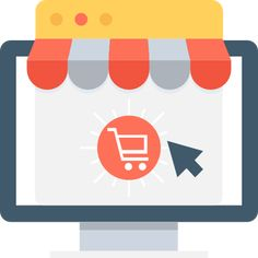Download now this free icon in SVG PSD PNG EPS format or as webfonts Flaticon the largest database of free v in 2020 Shop sign design Online supermarket Shop icon