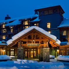 Make Whistler Your Home Away From Home This Ski Season at Nita Lake Lodge Whistler, Best Romantic Getaways, Sea To Sky Highway, Best Ski Resorts, Luxury Resorts, Canada Holiday, Ski Season, Travel And Leisure, Home And Away