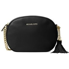 6f772e8206897 Michael Michael Kors Women s Medium Leather Messenger Bag ( 68) ❤ liked on  Polyvore featuring