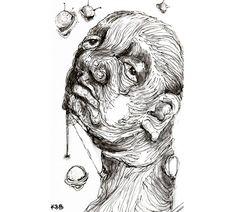 🔔#swollen #pimples #portrait #inktober2018 #inktober #promptlist #sketch #instaart #artistsoninstagram #adobemaxcontest Pimples, Inktober, Insta Art, Sketch, Portrait, Artist, Sketch Drawing, Headshot Photography, Artists