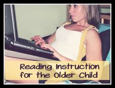 Homeschool review of Reading Horizons homeschool instruction for older learners.