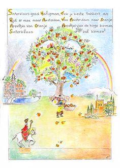 Het Zonnejaar - Sint Nicolaas en de appeltjes van oranje