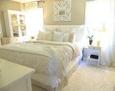 Cream and White Bedroom