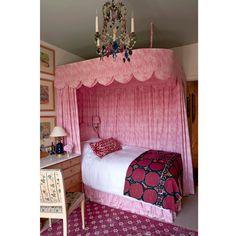 love the scalloped bed ~ Soane Britain - 1/28/2013