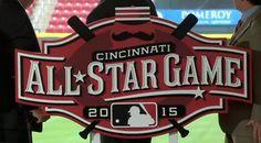 Logo for the 2015 All Star Game in Cincinnati