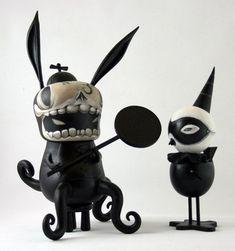 Custom art toy