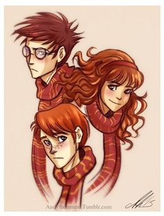 The Golden Trio >_<