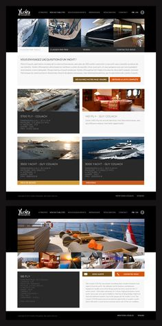 Yachts d'Exception  #website