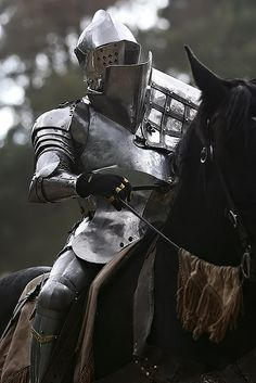 Knight In Shining Armour. Once Upon A Fable. Medieval Weapons, Medieval Knight, Medieval Fantasy, Armadura Medieval, Knight In Shining Armor, Knight Armor, Ancient Armor, Costume Armour, Armor Clothing