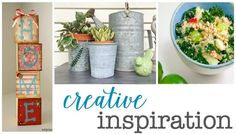 Check out these features at this week's Creative Inspiration Link Party, and then come join us!