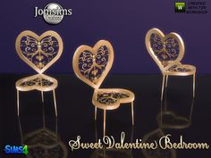 jomsims' sweet valentine dining chair