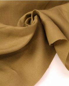 linen fabric in a warm cumin shade. This natural fabric is perfect for adding some lightweight classics to your summer capsule wardrobe. Summer Shirts, Linen Fabric, Capsule Wardrobe, Warm, Pure Products, Natural, Fashion, Moda, Fashion Styles