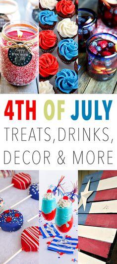 4th of july diy drinks