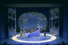 The Lion, The Witch and The Wardrobe. Seattle Children's Theatre. Scenic design by Carey Wong. 2002