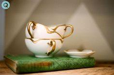 tea cup vintage book tm tea cup still life