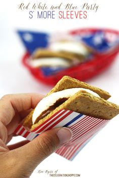 Easy Paper S' more Sleeves | Reece's Peanut Butter Cup Skillet S' Mores | Kim Byers, TheCelebrationShoppe.com
