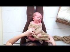 How to wrap a newborn – pea pod wrap tutorial
