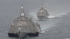 Littoral Combat Ship. The future is here.