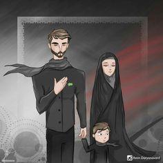 kumpulan kartun romantis parf 3 - my ely Islamic Images, Islamic Pictures, Iraqi People, Love Cartoon Couple, Islam Marriage, Cute Muslim Couples, Islamic Cartoon, Anime Muslim, Hijab Cartoon