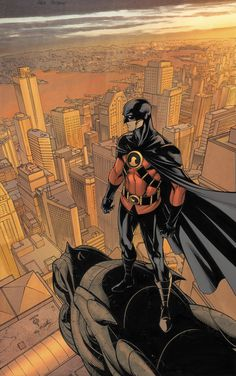 """""""Red Robin #6 Cover Art by Marcus To"""" Gidion Keep is very much cut from the same cloth as DC Comic's Tim Drake. There are a lot of nods to the short-lived """"Red Robin"""" series in my book."""