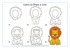 Learn to Draw a Lion