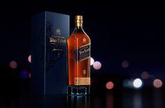 3D Product Visualization - Johnnie Walker (Blue Label) on Behance