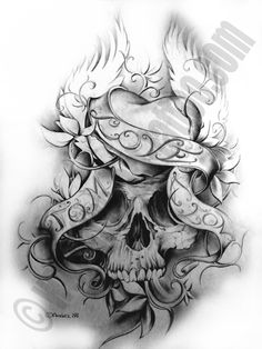 Fine-Art-Tattoo » Skull