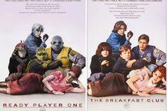 They reimagined the iconic Blade Runner poster with the characters from Ready Player One. Ready Player One Merchandise, Ready Player One Book, Blade Runner Poster, Gamer Meme, Gamer Tags, Gamer 4 Life, Movies Playing, New Poster, Sci Fi Movies