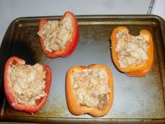 Chicken Stuffed Peppers | Tasteful Space