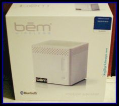 Bem Wireless College Mobile Speaker, clear, quality sound from your Bluetooth devices. Perfect for dorm rooms, on the quad, or anywhere your heading out, Grab it & go, tiny little box packs a ton of sound!