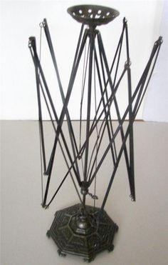 Antique cast iron rare Wool Winder Eisenguss E.G. Zimmermann Hanau Fer de Berlin #Zimmermann