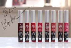 The new Meet Matt(e) Hughes Long-Lasting Liquid Lipsticks by theBalm ($17 each)