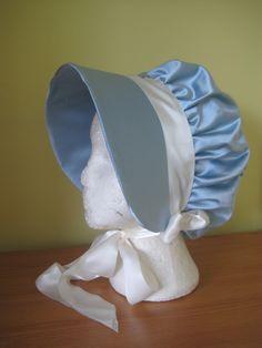 Regency Bonnet. Jane Austen. Regency Gown, Regency Era, Historical Costume, Historical Clothing, Jane Austen, Bonnet Hat, Empire Style, Period Costumes, Period Outfit