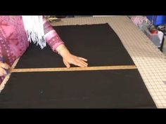 Sewing A Pattiala Salwar, Easy: Part 1 - YouTube
