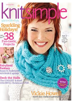 Cover Cowl from Knit Simple Holiday 2011      store.vogueknitti...