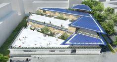 mikou design studio: the docks school, saint ouen, france