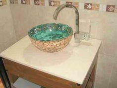 Resultado de imagen para bachas para  baño de ceramica