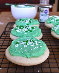 St. Patrick's Day Lofthouse Imitation Cookies