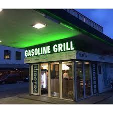 gasoline grill -øko burger