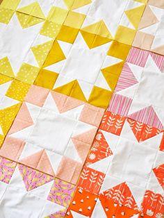 Star quilt patterns - Inside Out Star Quilt Pattern PDF – Star quilt patterns Quilting Projects, Quilting Designs, Sewing Projects, Star Quilt Patterns, Star Quilts, Modern Quilt Patterns, Patchwork Patterns, Block Patterns, Pattern Ideas