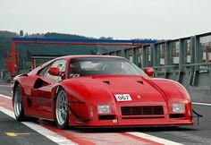 Rating and specs of Ferrari 288 GTO Evoluzione - top speed 370 kph, power 650 hp. Ferrari 288 Gto, Maserati, Bugatti, Pagani Huayra, Mclaren P1, Porsche, Lamborghini Gallardo, Gt Cars, Race Cars