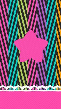 Wallpaper stars rainbow
