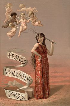 We just added two new galleries of vintage Valentine public domain images. These vintage victorian Valentine greeting cards are from the early When I found these images it made me won… Valentines Day History, Happy Valentines Day Card, Valentines Greetings, Vintage Valentine Cards, Valentines Day Hearts, Victorian Valentines, Vintage Holiday, Valentine Gifts, Valentine Cupid