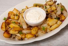 Aardappel en venkel uit de oven met aioli