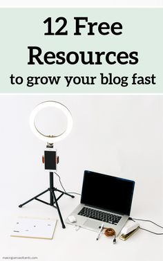12 Free Resources To Grow Your Blog Fast #howtomakemoneyblogging #howtostartablog #makeextramoney