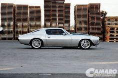 1970 Chevy Camaro RS/SS - Heavy Metal Terry Hansen Builds a Hard Rockin' Second-gen g-Machine split 5 star billet spoke wheels grey silver intro wheels (id luxury)
