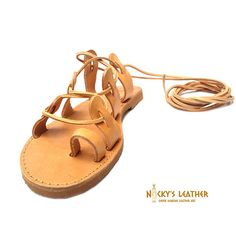 GLADIATOR LEATHER SANDALS! The shoes of Ancient Greek Gods! Make them yours now and live the myth! From Full Grain Leather and 100% Handmade with the best quality materials and craftsmanship! Super lightweight and cozy! Let me tell you more about Full Grain Leather: Full-grain leather