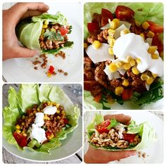 Cabbage tortilla wraps with taco seasoning meat. Great alternative to grain wraps, and it actually tasted almost the same #healthy #lifestyle #food #fitfood #fitnessfood #healthyfood #musclefood #matformuskler #protein #proteinfood #dinner #tacos #wraps #iifym #macros #flexibledieting #flexiblediet #fit #fitness #fitnessjourney #getfit #Padgram