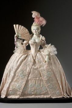 Dress Gown 18th Century rococo baroque