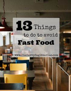 Fast food is the hardest part of almost every budget. It is usually where I go over every month. Most of that is due to poor planning. Here are 13 Things that I do that make it easier to say no to fast food! Ways To Save Money, How To Make Money, Show Me The Money, Living A Healthy Life, Early Retirement, Frugal Tips, Keep It Cleaner, Sagittarius, Saving Money